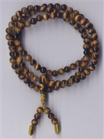 Mala Tiger Eye, 05 mm, 108 beads