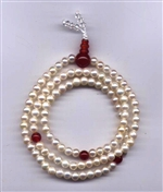 Mala Pearl Fresh Water, 05 mm, 108 beads