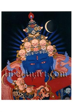 Face of Heruka Chakrasamvara