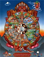 Wheel of Life    (Tib. Sipai Khorlo)