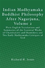 Indian Madhyamaka Buddhist Philosophy After Nagarjuna