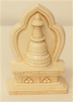Statue Stupa, 4.5 inch, Resin