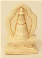 Statue Stupa, 2.25 inch, Resin