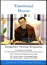 Emotional Rescue  (DVD) Dzogchen Ponlop Rinpoche