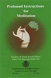 Profound Instructions for Meditation