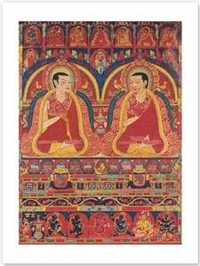 Kagyu Lineage Masters; The Abbotts of Taklung (Print 12x16)