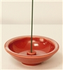 Incense Holder Crimson Wheel, Ceramic (Shoyeido)