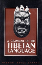 Grammar of the Tibetan Language <br> By: Hannah