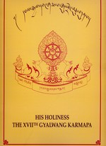 His Holiness the XVllth Gyalwang Karmapa <br> By: Karma Lekshey Ling, pub.