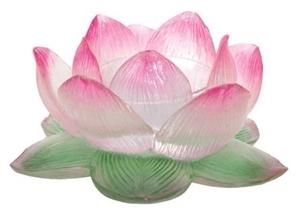 Lotus flower votive candle holder mightylinksfo