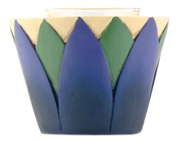 Lotus Votive Holder, 2.5 inch height, 3 inch diameter