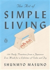 The Art of Simple Living Shunmyo Masuno