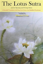 Lotus Sutra and its Opening and Closing Sutras