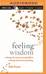 Feeling Wisdom: Working with Emotions Using Buddhist Teachings and Western Psychology MP3 CD Rob Preece
