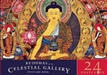 Buddhas of the Celestial Gallery Postcard Book: 24 Postcards, Romio Shestha
