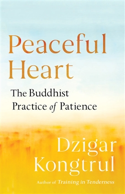 Peaceful Heart: The Buddhist Practice of Patience By: Dzigar Kongtrul, Shambhala