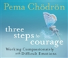 Three Steps to Courage (CD) <br> By: Pema Chodron