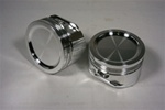 CP / ModMax 4.6 STROKER 17CC Dished Pistons WITH RINGS