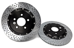 Baer Brakes EradiSpeed+ Rear Rotors Mustang 15-16 13""