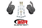 BMR Suspension 05-14 Mustang Control Arm Relocation Bracket Black