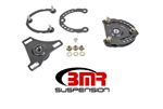 BMR Suspension Caster camber plates 15-17 Mustang Gray