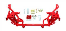 BMR Suspension 05-14 Mustang K-Member Standard Motor Red