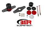 BMR Suspension 15-17 Mustang Motor Mount Kit Polyurethane Black