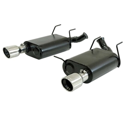 Flowmaster Axle-Back Exhaust Kit - 11-   Mustang 3.7L