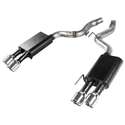 Flowmaster Axle Back Exhaust Kit 18 Ford Mustang GT 5.0L