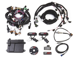Holley EFI ECU & Harness Kit Modular 2V W/NTK O2