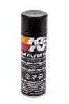 K&N Air Fltr. Oil 6oz.Aeroso