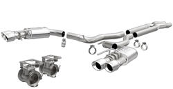Magnaflow 18-   Mustang 5.0L Cat Back Exhaust Kit Comp