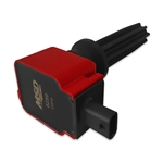 MSD Ignition Coil 1pk Ford Eco-Boost 2.0L/2.3L Red