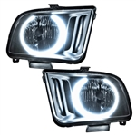 Oracle Lighting 05-09 Mustang Headlight Pre-Assembled w/Halo