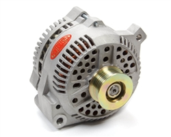 Powermaster Alternator 200amp Ford Natural Finish