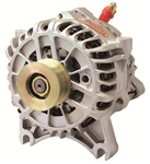Powermaster 200amp Alternator Ford 6G Style IDA Connector Natural Finish