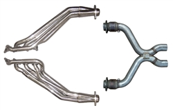 Pypes Performance Exhaust 11- Mustang 5.0L Headers W/Catted X-Pipe