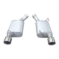 Pypes Performance Exhaust 05-10 Mustang 4.6L 2.5in Axle Back Exhaust System Violator