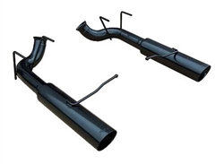 Pypes Performance Exhaust 11- Mustang Pype Bomb Axle Back Black