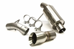 SLP Axle-Back Exhaust 05-10 Mustang V6 PowerFlo