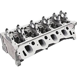 Trick Flow Twisted Wedge 185 Assembled Cylinder Heads for Ford 4.6L/5.4L 2V 44CC Chamber