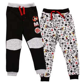Wholesale MICKEY MOUSE Boys Infant 2PK Fleece Joggers