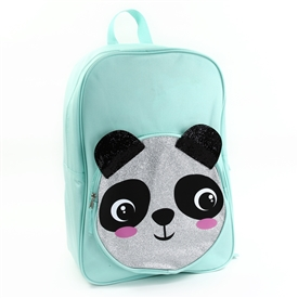"Wholesale CRITTER 17"" Glitter Backpack - Panda"