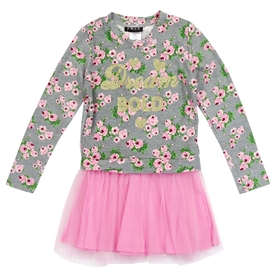 Wholesale RMLA Girls Toddler Screen Print Mesh Dress
