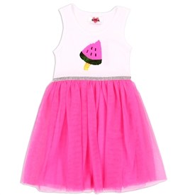 Wholesale RMLA Girls 2-4T Mesh Dress w/ Flip Sequins