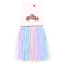Wholesale RMLA Girls 2-4T Mesh Dress w/ Sequin Applique