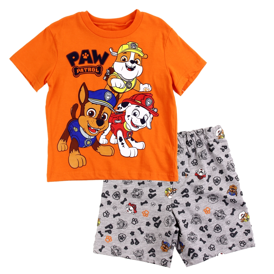 Boys Short Set PAW Patrol Toddler Sizes 2T,3T /& 4T