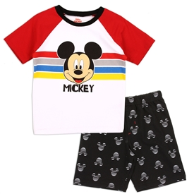 Wholesale MICKEY MOUSE Boys 4-7 FT Short Set