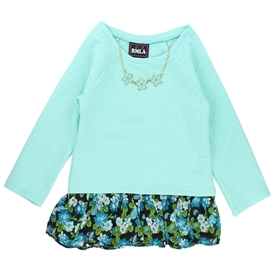 Wholesale RMLA Girls 4-6X Holiday Fashion Top with Necklace