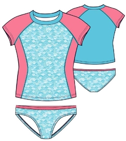 Wholesale JANTZEN Girls 4-6X Swimsuit